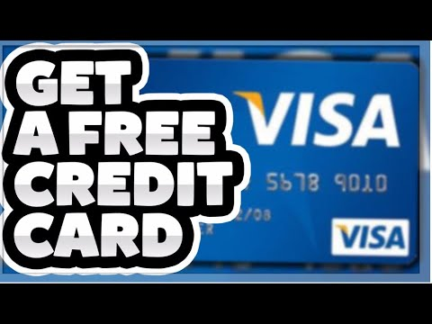 HOW TO GET FREE CREDIT CARDS 2019 (CREDIT CARD GENERATOR) 1