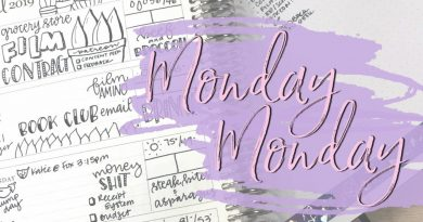 Fast Monday Planning | Plan As You Go April 2019 2