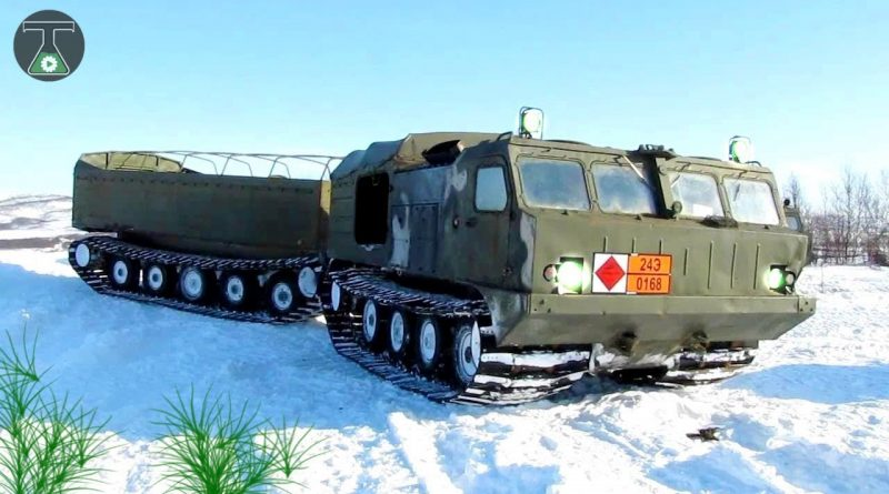 10 Russian Vehicles For The Arctic Region 1