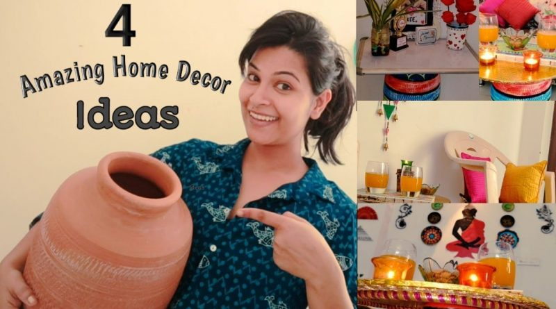 4 Amazing Home Decor Ideas using old Matka (Clay Pot)|| how to recycle waste pot 1