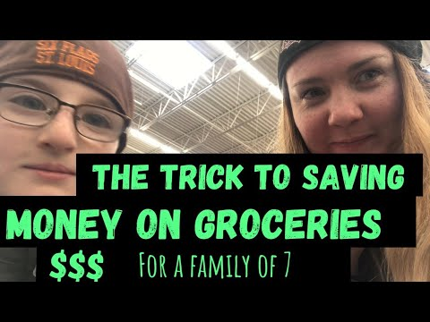 Do this one thing before you go grocery shopping to save money // The trick to saving money $$$ 1