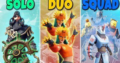 SOLO vs DUO vs SQUAD in Fortnite Battle Royale #722 3