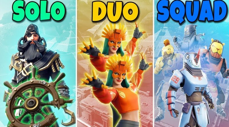 SOLO vs DUO vs SQUAD in Fortnite Battle Royale #722 1