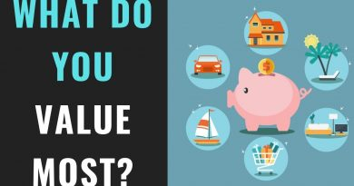 How to Make A Budget Using the Values Based Budget | Values Budget Explained 3