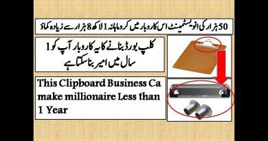 Clipboard Board Making Business Idea 3