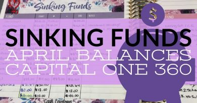 Sinking Funds | April Balances | Saving Money | Dave Ramsey | Baby Step #2 | Savings | How to Save 4