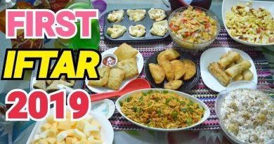 FIRST IFTAR OF 2019 by (YES I CAN COOK) #2019Ramadan #FirstIftar #RamadanMubarak #Vlog 3