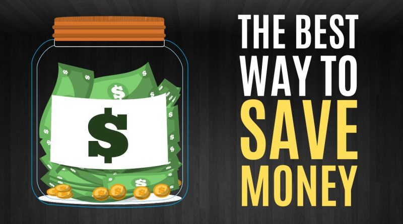The BEST Way to Save Money 1