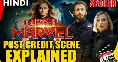 CAPTAIN MARVEL : Post Credit Scene [Explained In Hindi] 3