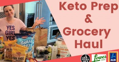Keto Meal Plan and Grocery Hauls - Trader Joes/Aldi/Lowes 2