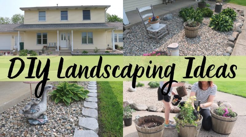 DIY LANDSCAPING IDEAS | LANDSCAPING ON A BUDGET | MONEY SAVINGS TIPS ON DIY LANDSCAPING 1