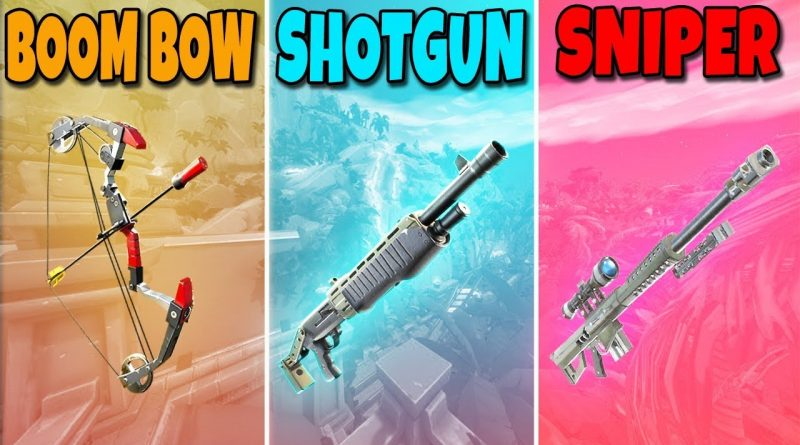 BOOM BOW vs SHOTGUN vs SNIPER in Fortnite Battle Royale #716 1