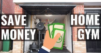HOW to SAVE MONEY with a HOME GYM in 2019! 2