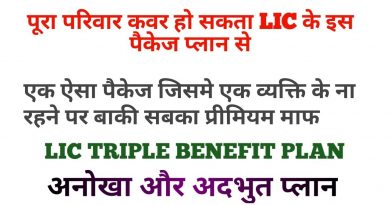 LIC BEST FAMILY PACKAGE PLAN, Clear description 4