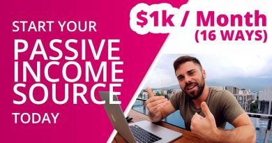 PASSIVE INCOME IDEAS - 16 ways to automate your income($1000+/ month) 2