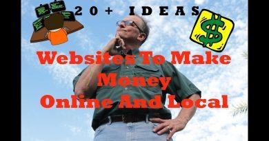 Websites to make money online 20+ Ideas 2019 - Side Cash Online And Local - Side Hustle 4