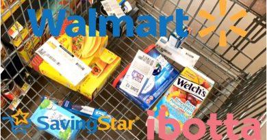 Walmart   Redeeming Ibotta & SavingStar Rebates   Almost Gone Wrong   Meek's Coupon Life 2