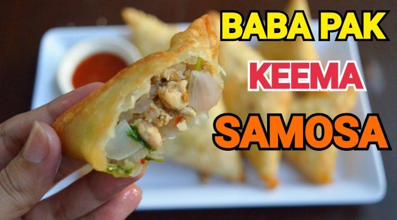 KARACHI KA MASHOOR BABA PAK KEEMA SAMOSA IFTAR SPECIAL by YES I CAN COOK#2019Ramadan #BabaPakSamosa 10