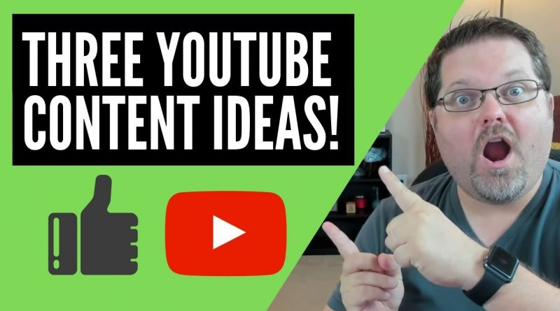 Three YouTube Content Ideas For Your Channel 9