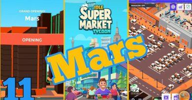 Idle Supermarket Tycoon - Tiny Shop Game (OPENING MARS) Walkthrough Part 11 2