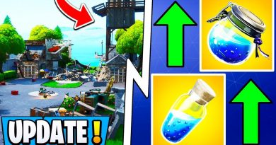 *NEW* Fortnite Update! | Shield Changes, Default Skin Update, Shotgun Buff! 2
