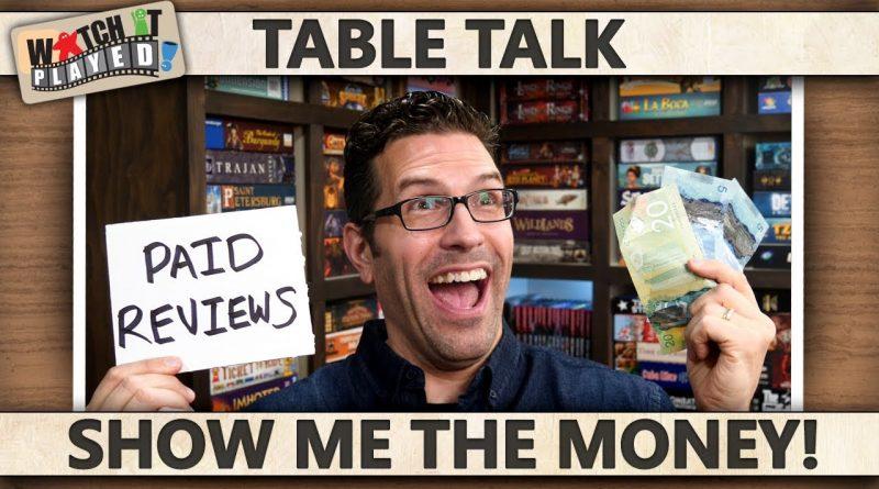 Table Talk - Show Me The Money! 1