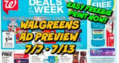 WALGREENS AD PREVIEW (7/7 - 7/13) EASY FREEBIE...PRINT NOW! 2