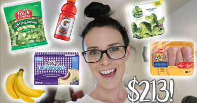 Grocery Haul  |  Family of 5  |  Military Overseas Commissary 4