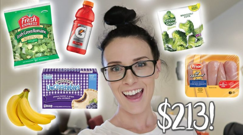 Grocery Haul  |  Family of 5  |  Military Overseas Commissary 1