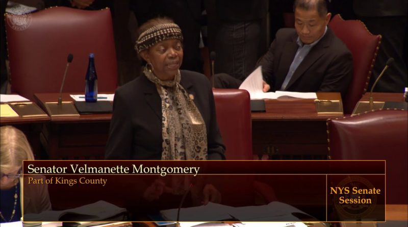 Senator Montgomery's Credit Union Bill Passes Senate 1