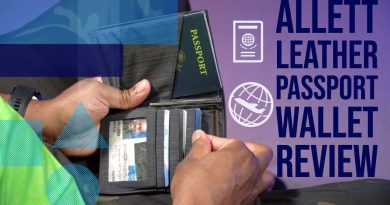 Allett Leather Passport Wallet Review Keep Your Passport and Credit Cards Safe 3