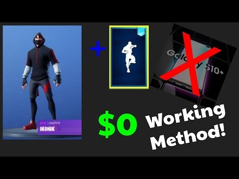 How to get Ikonik Skin! Free, Online, Quick! Working Method! [S10+ promotion] 9