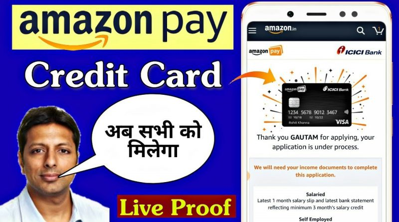 Amazon Pay ICICI Bank Credit Card Apply Now Available For All || Amazon Pay Credit Card Eligibility? 8