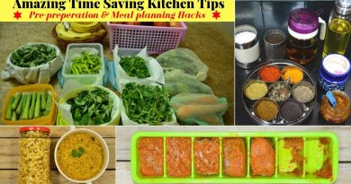 Time Saving Kitchen Tips/Hacks for Healthy Lifestyle | Indian Vegetarian Meal Planning | Urban Rasoi 3