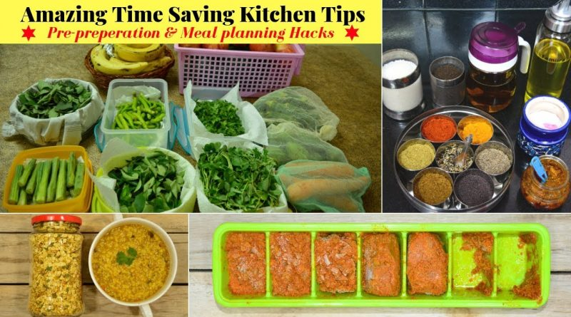 Time Saving Kitchen Tips/Hacks for Healthy Lifestyle | Indian Vegetarian Meal Planning | Urban Rasoi 8
