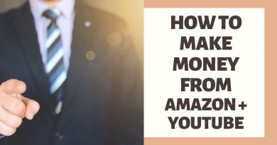 How To Make Money From Amazon and Youtube | Small Business Ideas 3