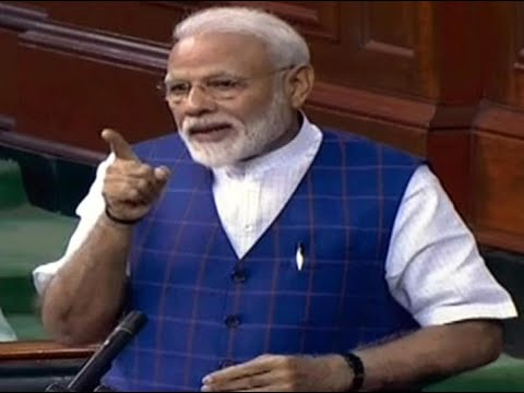 Did Congress credit Narasimha Rao, Manmohan, Vajpayee, PM Modi asks in LS 1