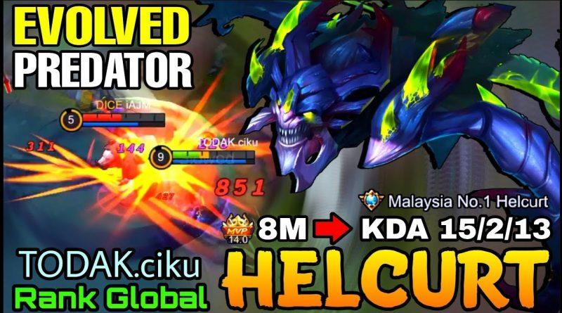 Helcurt Evolved Predator - Top Global Helcurt by TODAK.ciku - Mobile Legends 1