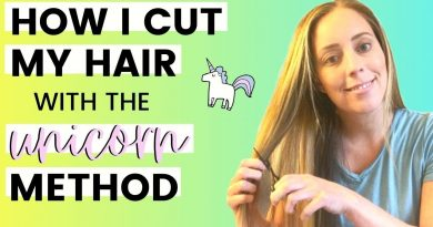 DIY HAIRCUT // How I cut my own hair to save money 2