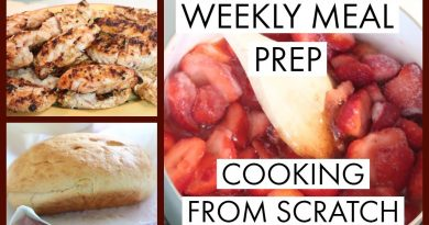 WEEKLY MEAL PREP  | COOKING FROM SCRATCH  | SAVING MONEY $$ 4