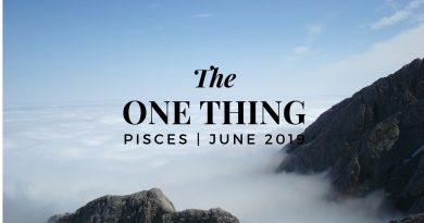 PISCES: The ONE Thing 6/9 - 7/1 4