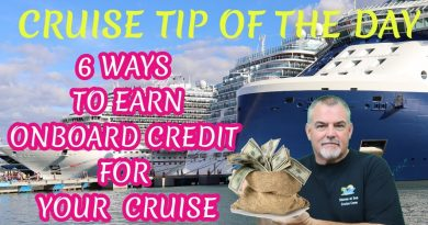 6 WAYS TO EARN ONBOARD CREDIT TOWARDS A CRUISE | MONEY SAVING CRUISE TIP OF THE DAY 2