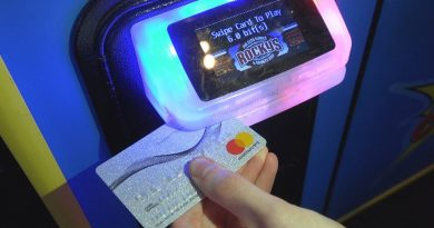 Will a credit card work on arcade games? 2
