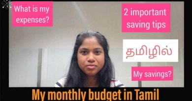My monthly budget in Canada| 2 Saving tips|My savings|Monthly expenses in Canada|tamil 3