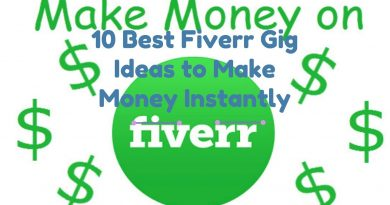 Top 10 best fiverr gigs ideas to make money instantly 2