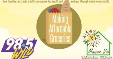 Making Groceries Affordable - Susan Harrington on Sunday Journal with Hal Clark WYLD 98.5 FM 2