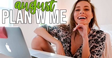 August PLAN W ME | finances, work, mental & physical health 4