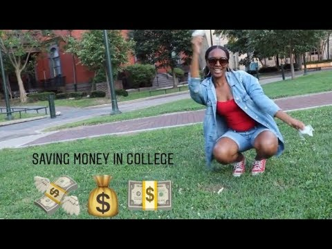 """SAVE DAT MONEY"" Tips on Saving Money in College for Students 1"