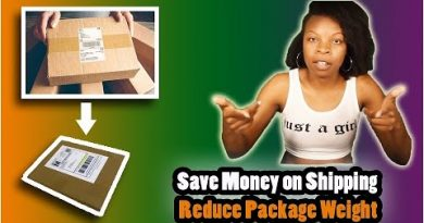 DIY Packaging Ideas for Saving Money - Learn How to Make Your Package Weigh Less for Shpping! 3