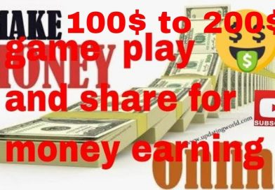 How To online money earning tamil  | gamplay  share  to earn | Technical ideas